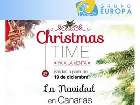 OFERTAS CHRISTMAS TIME EN ISLAS CANARIAS